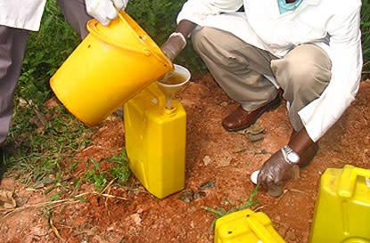 Hygieniskt toa-avfall förbättrar världshälsan