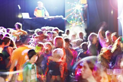 Dans ökar kreativiteten, testat på Vetenskapsfestivalen.