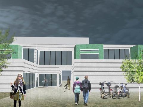 NCC skriver samspillskontrakt på Aust Lofoten videregående skole