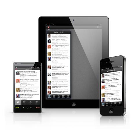 Projectplace lanserar nästa generations mobila appar