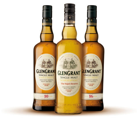 Glen Grant Three Bottles
