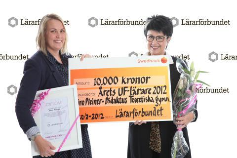 Årets UF-lärare prisas med 10 000 kr