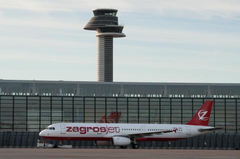 ZagrosJet nytt flygbolag på Arlanda