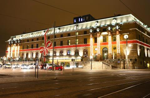 Världens största julklapp i Göteborg?