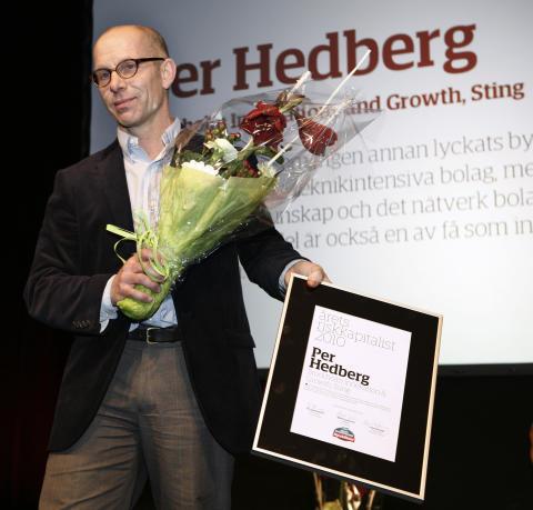 """Pär Hedberg har korats till """"Årets riskkapitalist"""""""