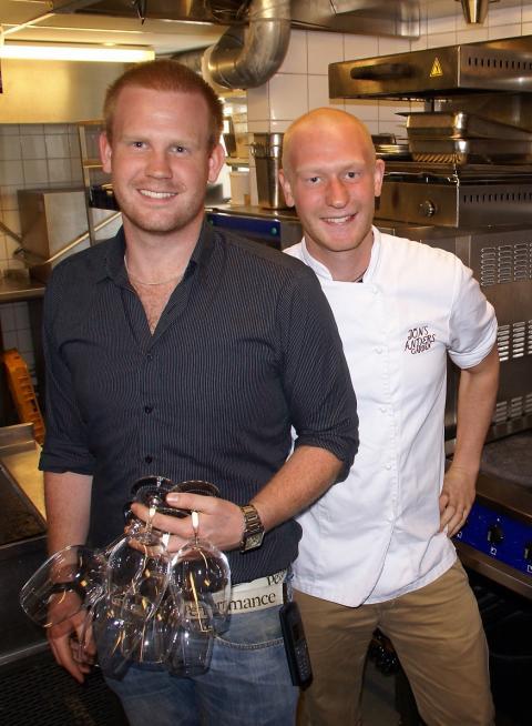 Adrian och Jesper Svensson, Jöns Andersgården