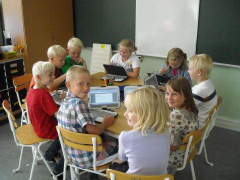 Ale kommun uppmärksammas på den internationella Skol-IT arenan