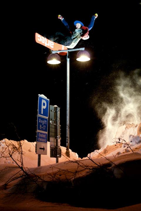 ARTEC SNOWBOARDS SISTE SPONSOR TIL JUNKYARD IN THE CITY