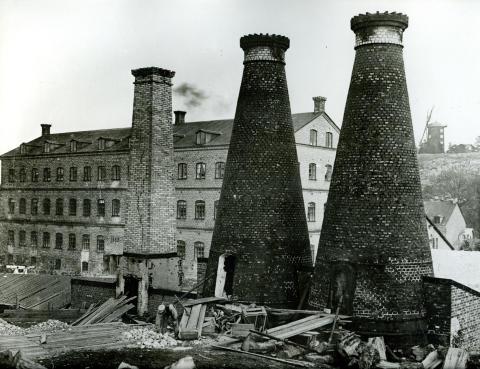 Flintugnar i Gustavsberg