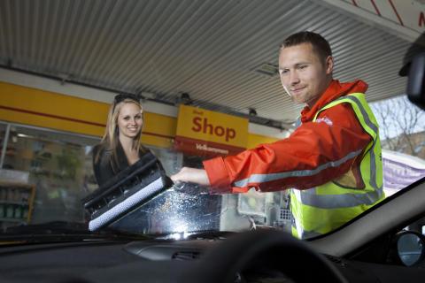 Shell indfører gammeldags service