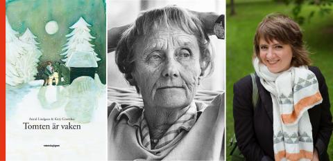 """Nu kommer """"Tomten är vaken"""" - Astrid Lindgrens försvunna julsaga med illustrationer av Kitty Crowther"""