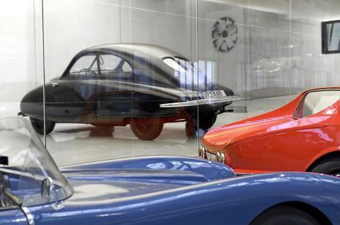 Framsynt kulturgärning räddade Saab bilmuseum