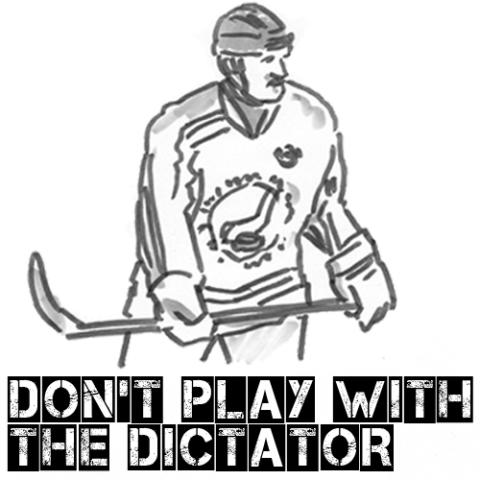 Don't Play with the Dictator - Ny internationell kampanj mot ishockey-VM i Vitryssland 2014