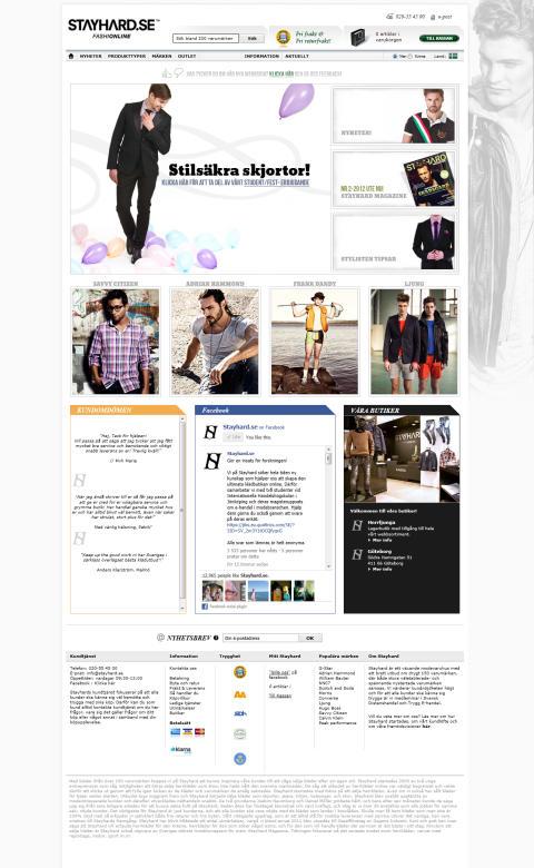 Stayhard.se lanserar ny webb
