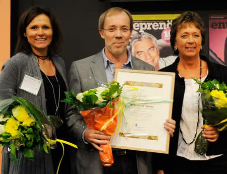 Vårdcentralen Aroma är Årets Nyföretagare i Sverige 2011