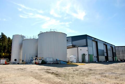 Påminnelse! Invigning av Stockholms första förbehandlingsanläggning för biogas, den 24  maj i Huddinge.