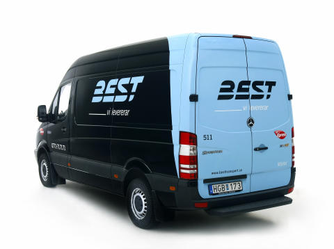 Miljöbil från Best Transport
