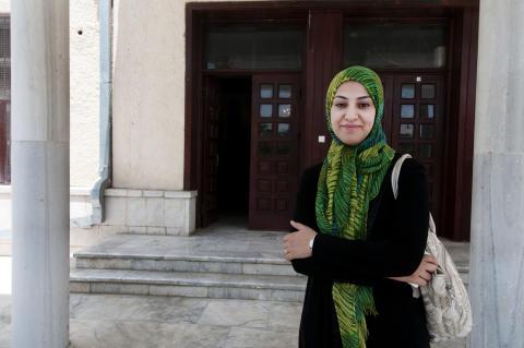 Naheed Farid, 27, Afghanistan yngsta riksdagsledamot, från Herat