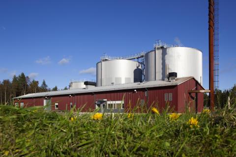 Umeå mejeri, biogasanläggningen