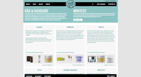Skincity.se hudvårdsrådgivning