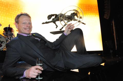 Joakim Lövgrens Brioni blev Årets Häst 2011