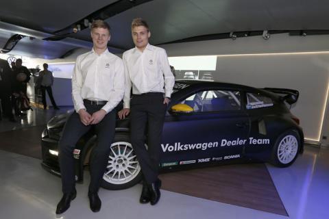 Volkswagen och KMS inleder satsning på rallycross