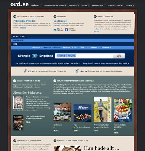 Ord.se - ny design och ett utökat innehåll om språk