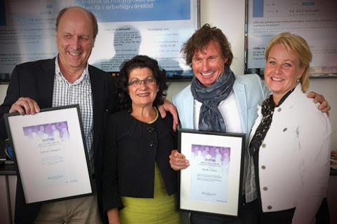 Nordic Choice Hotels fick pris av Arbetsförmedlingen