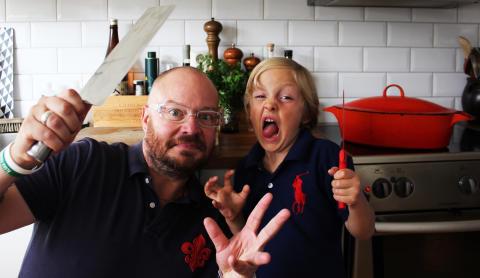 Far och son från Stockholm är finalister i Årets Hemmakock 2012