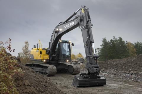 Grävmaskiner Volvo EC140D, EC160D, EC220D - bild 2