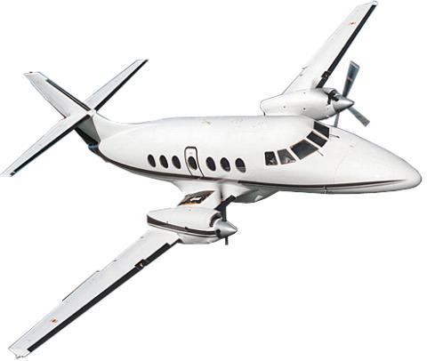 HittaFlyget.se erbjuder flyg med eget privatjet för 10 000 kr