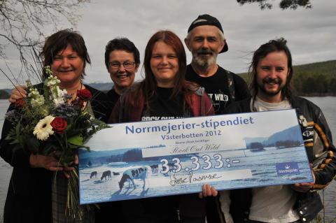 Rock Out Wild, vinnare av Norrmejerier-stipendiet i Västerbotten 2012