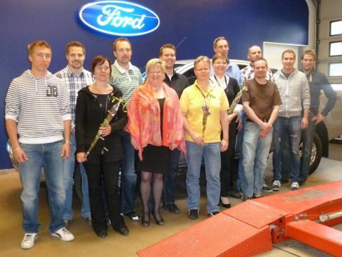 Ford vahvistaa teknisen henkilöstön osaamista kaupallisella koulutusohjelmalla