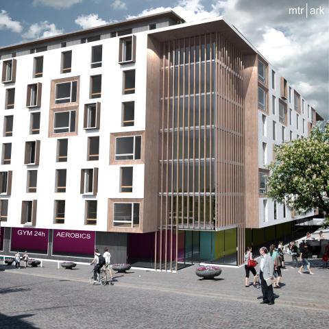 Veidekke vill bygga 4 000 studentbostäder i Stockholm