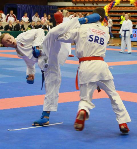 Alt klart for tidenes karate NM 17. mars i Drammen