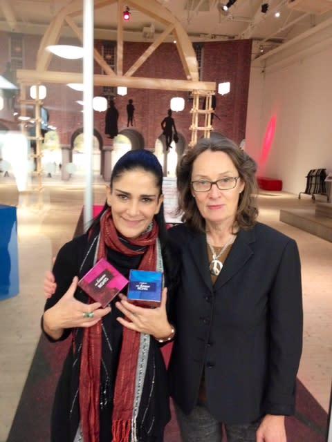 Lydia Cacho får Olof Palme priset och materialet My Human Rights