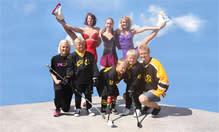 Höstfest med isuppvisningar av Tibros skridskostjärnor på Stora torget
