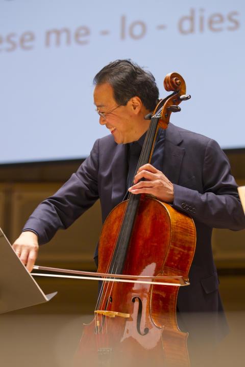 Cellisten Yo-Yo Ma får Polarpriset och spelar i Konserthuset