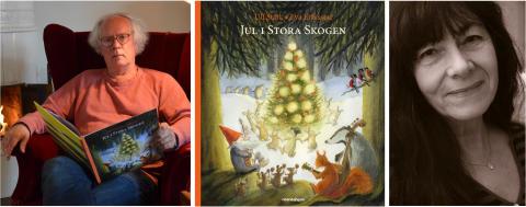 Ny julbok av Ulf Stark och Eva Eriksson – stämningsfull berättelse om tomten Vrese och julförberedelserna i Stora Skogen