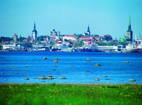 Livligare hamn i Tallinn