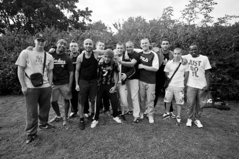 """Amerikanske gängexperten """"King Tone"""" är i Malmö för att träffa ungdomar och diskutera gängkriminaliteten i stan"""