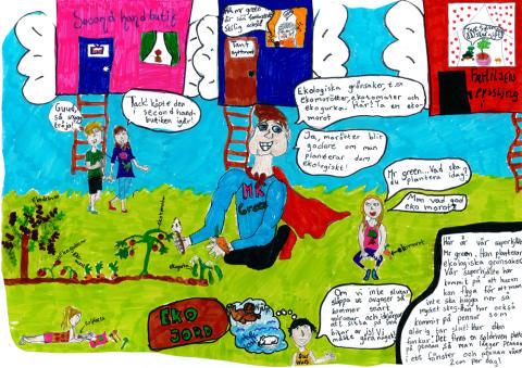 Karlskronaklass vinner 10 000 kr i rikstäckande miljötävling