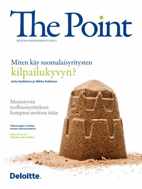 Deloitten sidosryhmälehti The Point 2/2011
