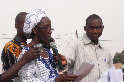 Kvinnligt deltagande fördubblat genom projekt i Mali