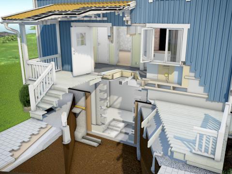 Världens första 3D-hus ska hjälpa hemmasnickaren bygga rätt