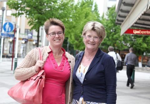 Eva Lennström och Lotta Håkansson Harju om tiden i Järfälla