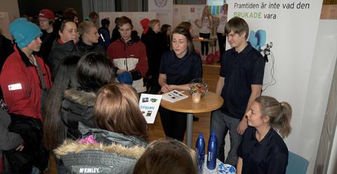 Nyttigt projekt med samverkan mellan skola och näringsliv