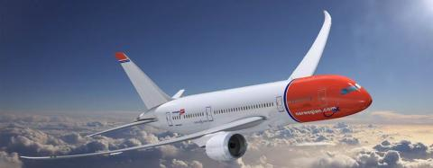 Norwegian Orders Two Additional Boeing 787 Dreamliners