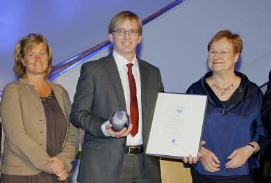 ES Equipment vinnare av Quality Innovation of the Year 2011