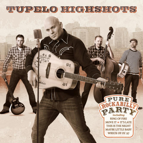 Skivkonvolut Tupelo Highshots - Pure Rockabilly Party